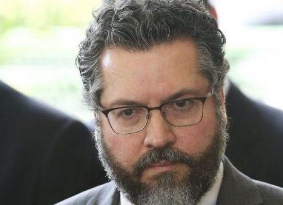 Araújo: representante da Nicarágua não estará na posse de Bolsonaro