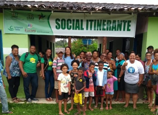 Comunidades rurais de Itacaré são atendidas pelo Projeto Social Itinerante