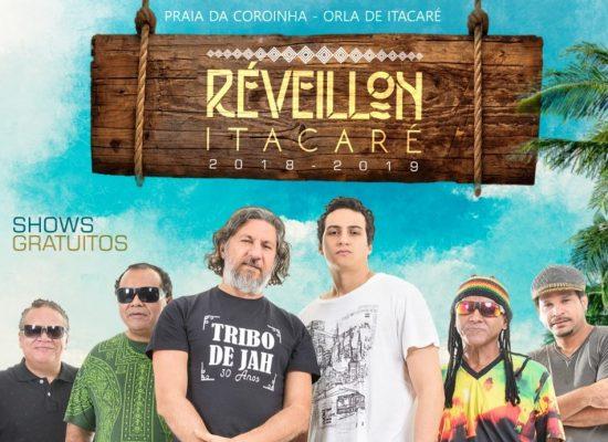 Luiz Caldas, Tribo de Jah e Pirilampo confirmados no Réveillon de Itacaré
