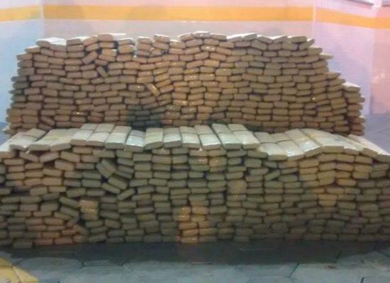 Polícia do MS apreende 10,7 toneladas de maconha