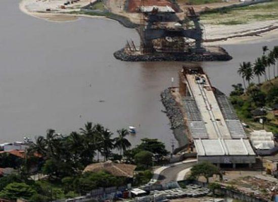 Seinfra confirma conclusão da obra da nova ponte de Ilhéus em agosto de 2019