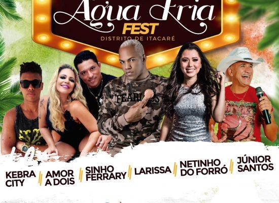Itacaré: Sinho Ferrari, Larissa, Amor a Dois e Netinho do Forró no Água Fria Fest