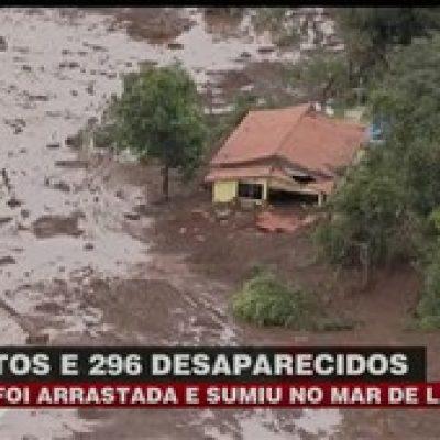 MG: Pousada é varrida por mar de lama em Brumadinho