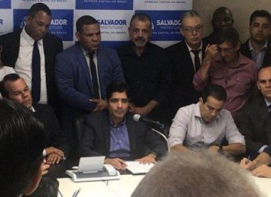 ACM Neto anuncia nomes de novos cinco secretários municipais