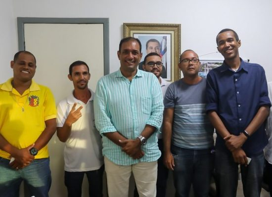 Incentivo para agentes de saúde e de endemias é tema de reunião com o prefeito