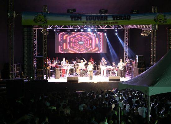 Noite de louvor e adoração encanta público na Concha Acústica de Ilhéus
