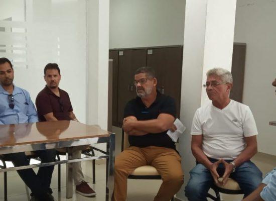Prefeito recebe comissão de comerciantes para discutir mudanças no trânsito do Malhado