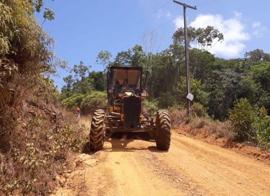Com estiagem, Prefeitura intensificará melhoria de estradas rurais de Ilhéus