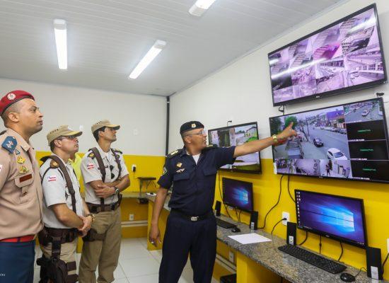 Prefeitura inaugura central de monitoramento eletrônico da Guarda Civil Municipal em Ilhéus