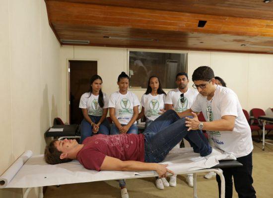Sesau conscientiza população sobre doenças relacionadas ao esforço repetitivo