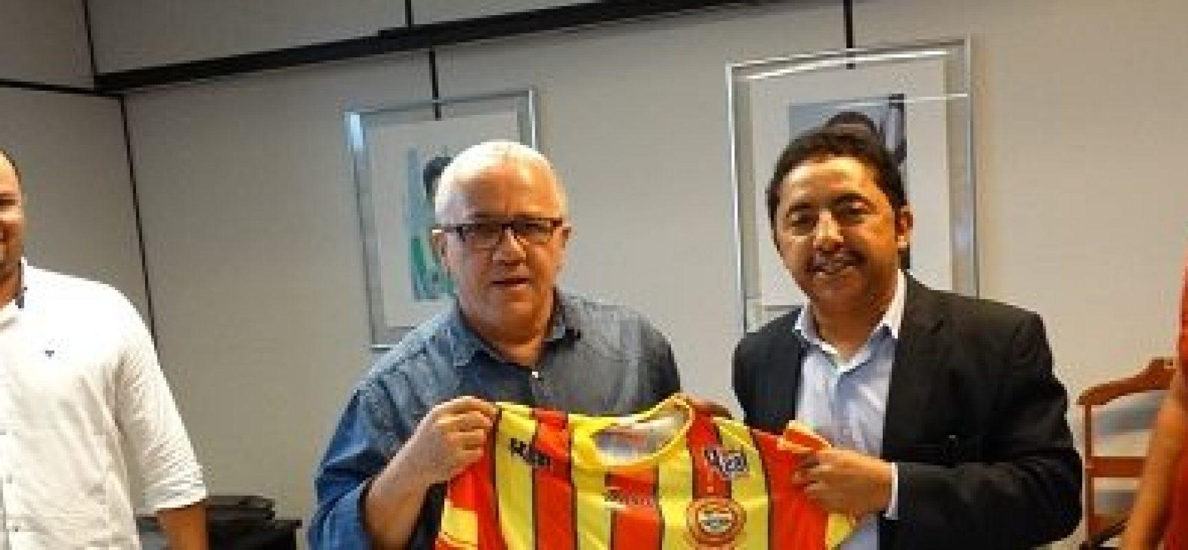'Vamos vencer o Vasco', diz confiante o Presidente da Juazeirense, Roberto Carlos