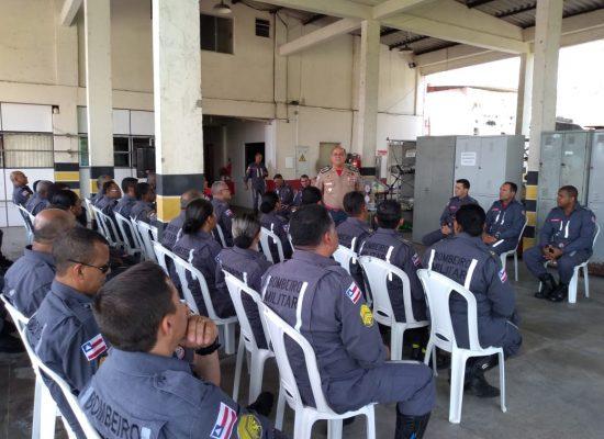 Comandante-geral do CBMBA visita 4º GBM – Itabuna