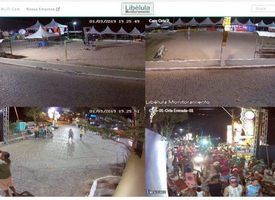 Videomonitoramento vai garantir muito mais segurança no Carnaval de Itacaré