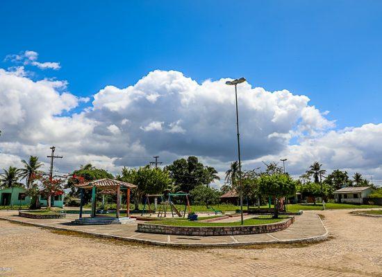 Marão confere o avanço das obras e dialoga com comunidade de Sambaituba