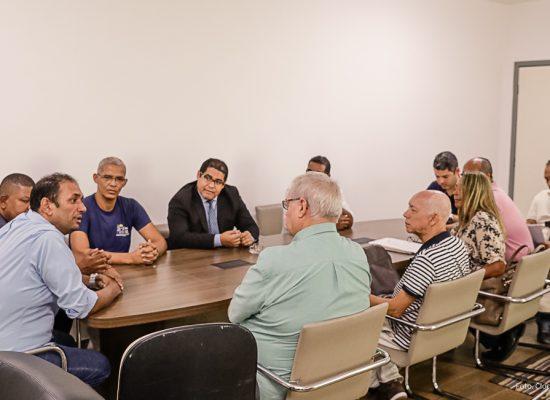 Marão garante parceria da Prefeitura no projeto de restauro da Igreja Matriz de São Jorge