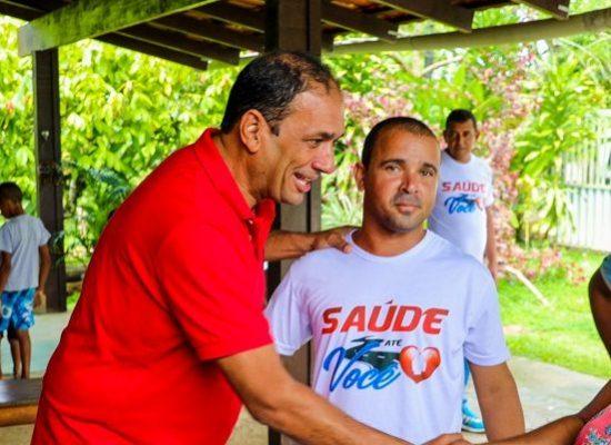 Mutirão oferece serviços gratuitos de saúde na comunidade do bairro Novo Ilhéus