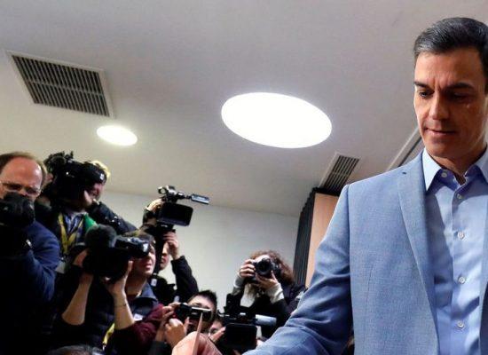 PSOE vence eleições na Espanha, mas sem maioria para governar