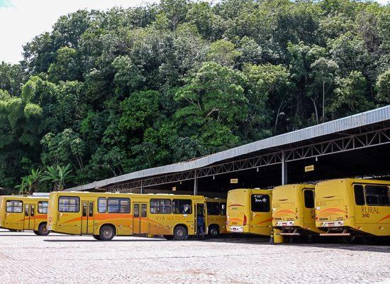 Sutram de Ilhéus realiza vistoria técnica em concessionárias de transporte coletivo