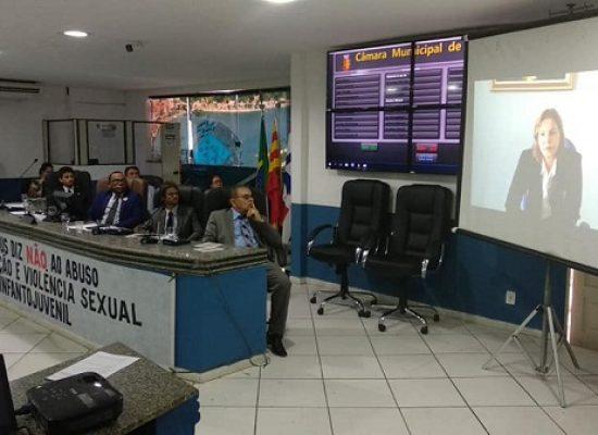 Câmara reforça combate ao abuso e violência sexual contra crianças e adolescentes em Audiência Pública