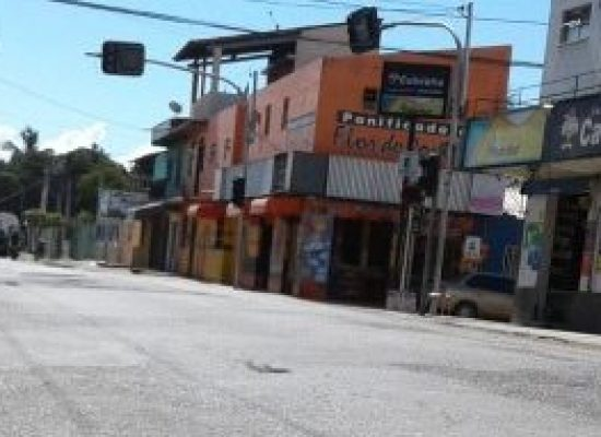 Prefeitura interdita trânsito na Rua 13 de Maio, no Pontal, nesta sexta-feira (10)