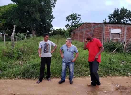 Vereador Escuta visita Alto do NSV, e apresenta proposições de interesse da comunidade