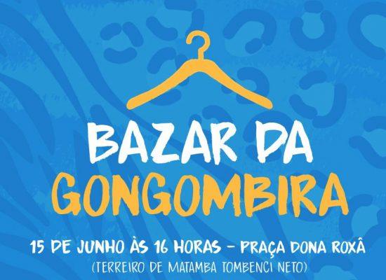 ONG Gongombira promove bazar neste sábado, em Ilhéus