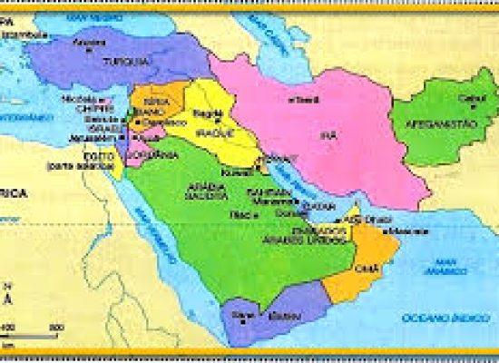 Oriente Médio tem manifestações contra os Estados Unidos e Israel