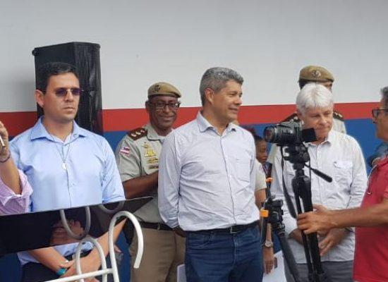Prefeitos comemoram trecho recuperado da BA-262 entre Itajuípe e Coaraci