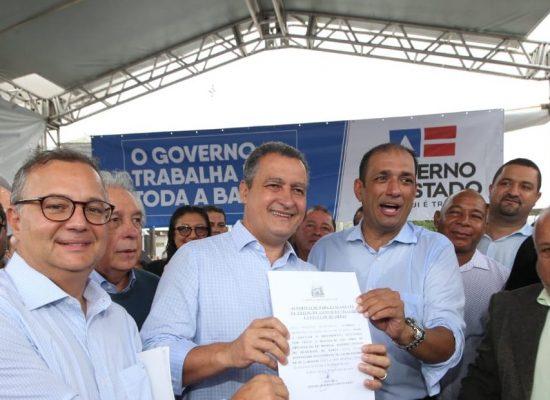 Governador autoriza reforma de hospital e início de obras da Vila Gastronômica