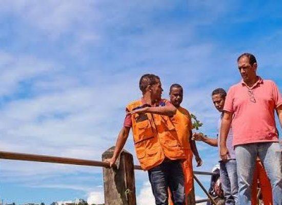 Município inicia obras nos locais atingidos pelas fortes chuvas em Ilhéus