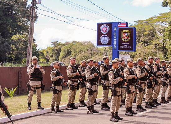 Prefeito participa da cerimônia de troca do comando da Rondesp Sul