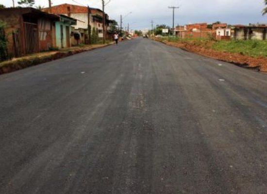 Requalificação asfáltica promove melhorias para comunidade do N. Sra. da Vitória em Ilhéus
