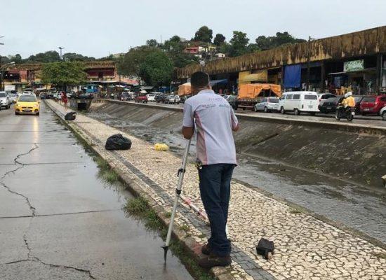 Iniciadas ações da primeira etapa do fechamento do canal do Malhado