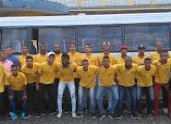 INTERMUNICIPAL: Seleção de Ilhéus já se encontra em Itarantim para o jogo de mais logo