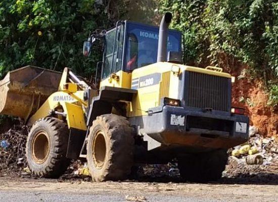 Prefeitura dá continuidade ao programa de erradicação de lixeiras viciadas
