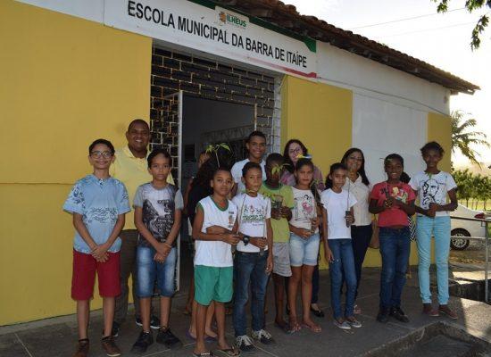 SDS e Instituto Global Brasil realizam plantio de árvores em comunidades ilheenses