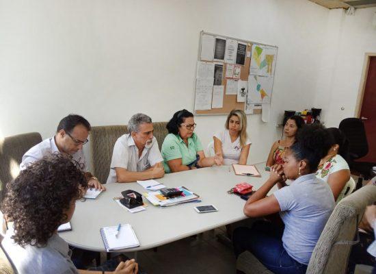 Secretaria de Saúde discute ações para a chegada do Porto Sul