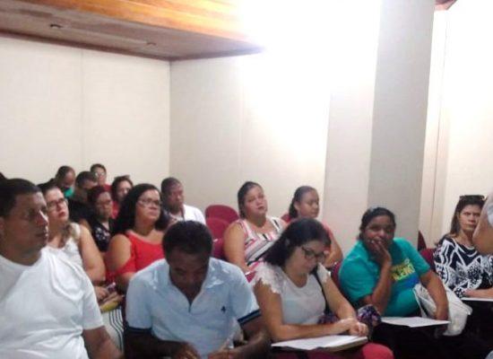 Sesau realiza reunião com marcadores de exames do município
