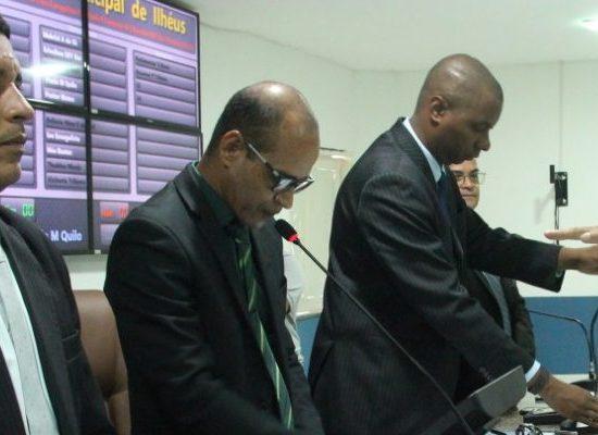 Vereadores assumem mandato na Câmara de Ilhéus