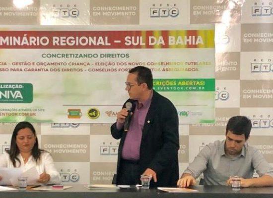 AMURC participa do 7º Seminário Regional Sul da Bahia