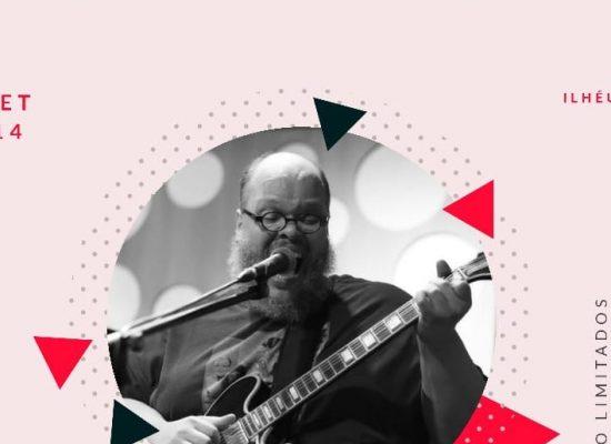 """Ed Motta apresenta show """"Solo"""" com piano e guitarra em Ilhéus"""