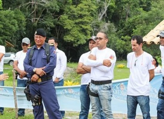 Guarda Civil de Ilhéus realiza treinamento com arma de fogo
