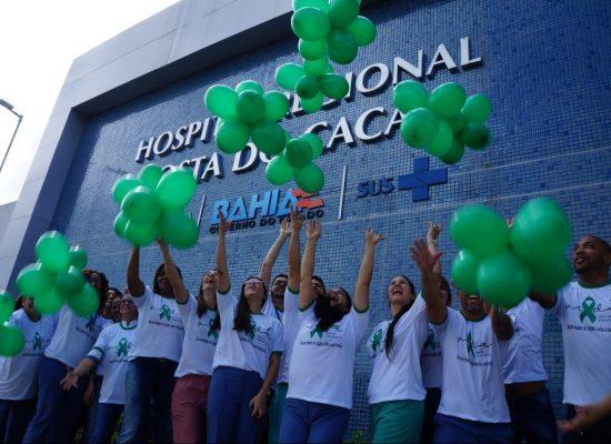 Hospital Regional Costa do Cacau inicia ações em prol do Setembro Verde