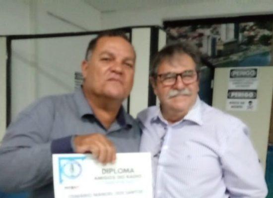 MARINHO SANTOS é homenageado pelo STERT como o mais destacado repórter policial da Bahia