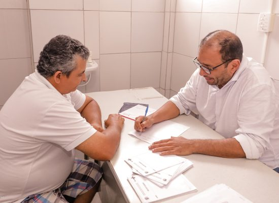 Prefeito de Ilhéus participa de Mutirão da Saúde em Inema