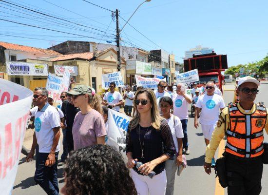 Vem Porto Sul: Ilhéus realiza passeata em apoio ao projeto do complexo
