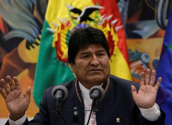 Ministério Público da Bolívia expede mandado de prisão contra Morales