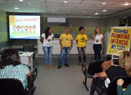 Desenvolvimento Social realiza capacitação do Programa Criança Feliz