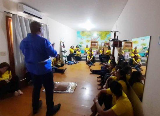 Equipe da Casa Amarela passa por Segunda capacitação de brigadistas