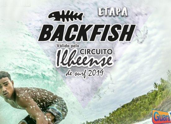 Etapa Backfish do Circuito Ilheense de Surf terá curso de Emergências Aquáticas